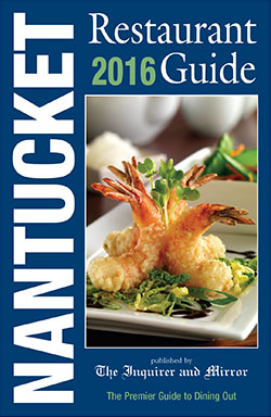 Nantucket Restaurant Guide Cover