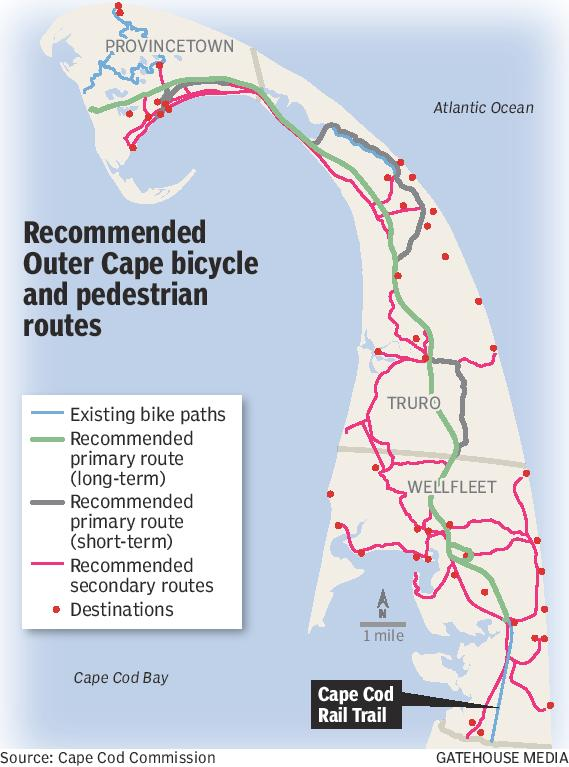 Bumps in the road for Outer Cape rail trail extension - News ... on