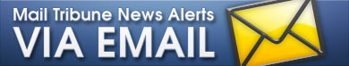 Mail Tribune News Alerts via email