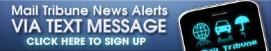 Mail Tribune News Alerts via text