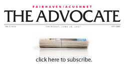 Click here to subscribe to the Advocate