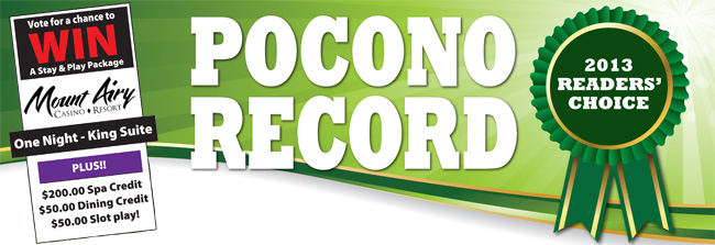 2013 Pocono Record Readers' Choice